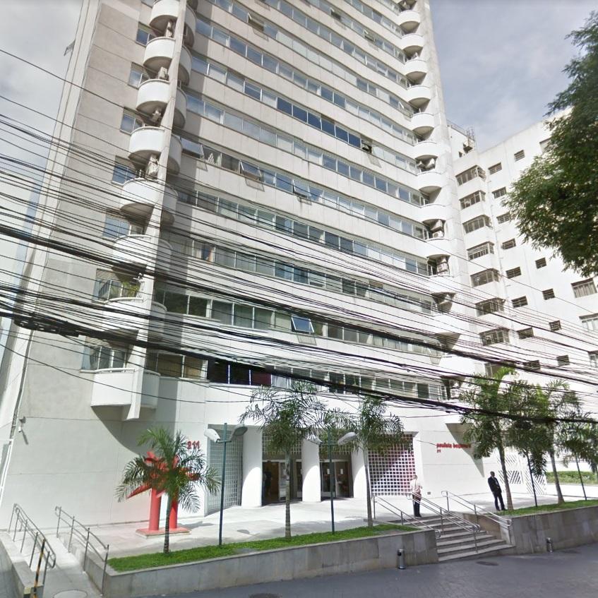 Escritório com área útil de 95,454 m²