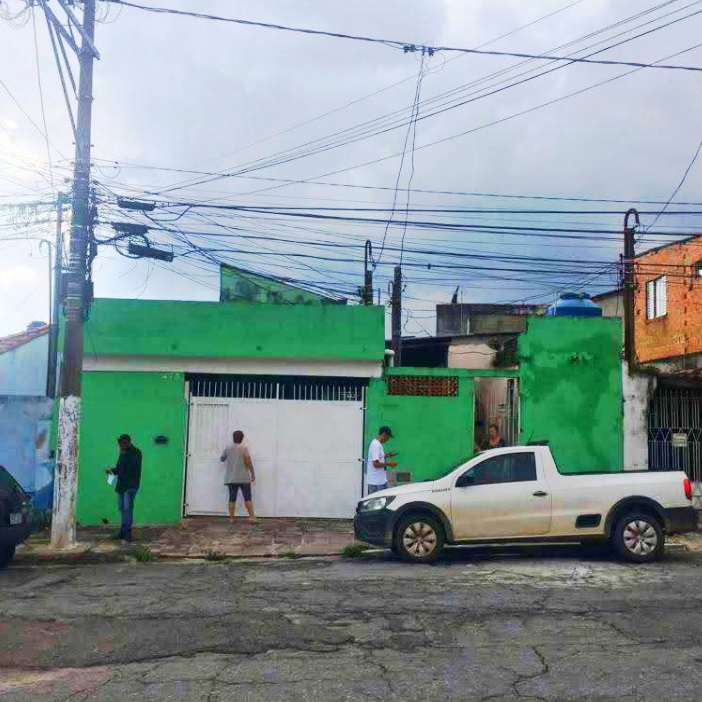 Casa em Vila Guilhermina em terreno com área de 329,00 m²