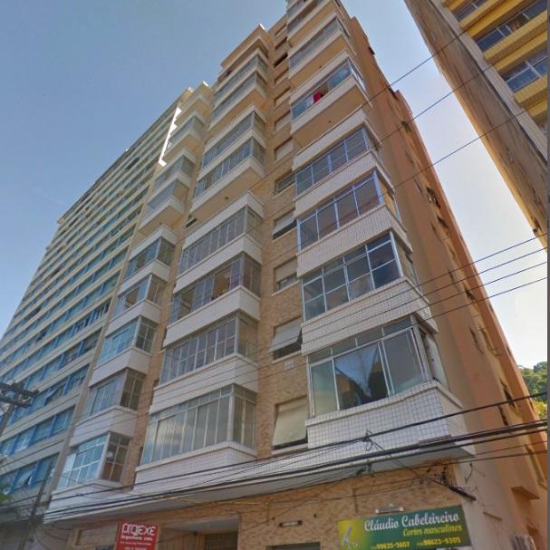 Apartamento com área construída de 72,04 m²