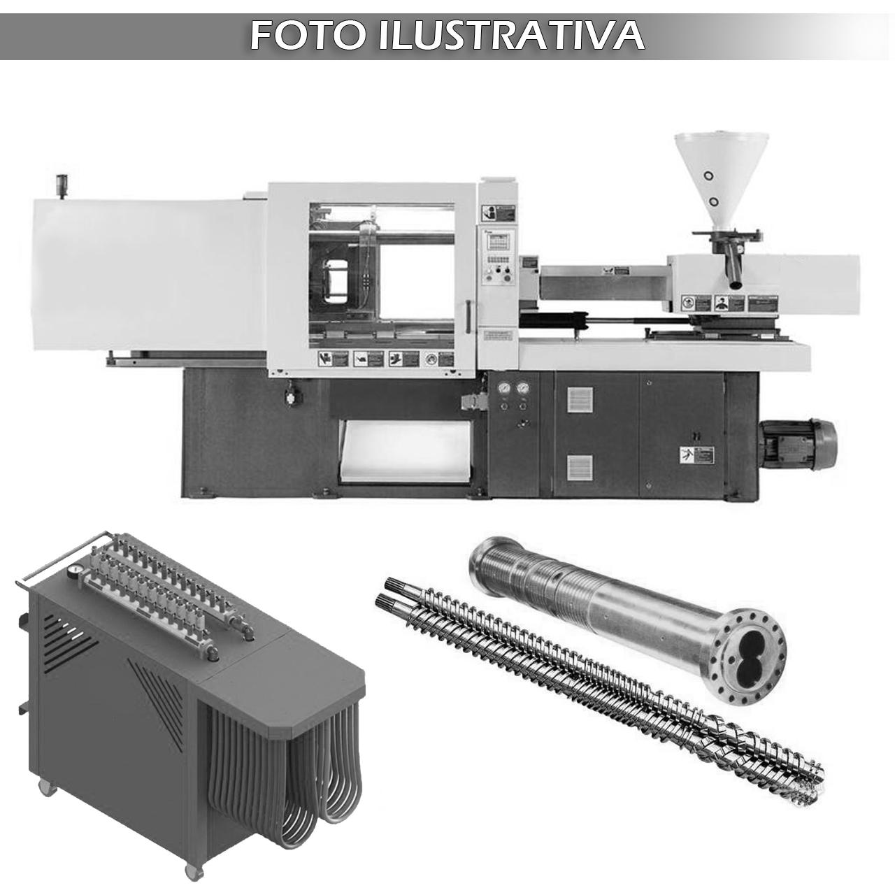 Máquina Injetora, Eq. de Teste de Vazamento e Conjunto de Canhão
