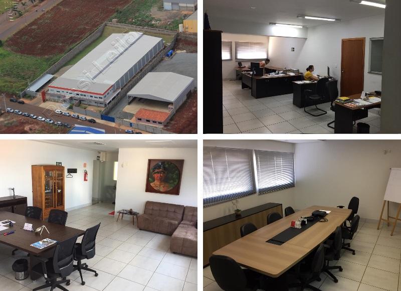 Galpão industrial com área de 4.697,40 m²